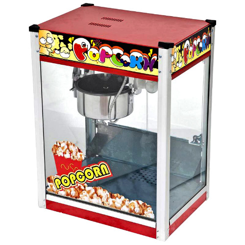 PopCorn Machine With A Flat Roof