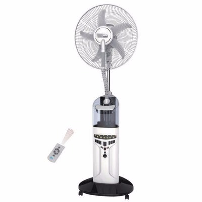 Rechargeable Mist Fan with Remote Control - 16 Inches