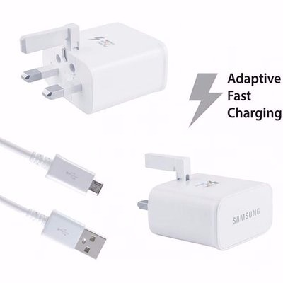 Samsung Galaxy S6 - S6 Edge Adaptive Fast Charger -White