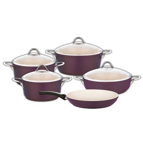 Saucepan Set - 9 Pieces