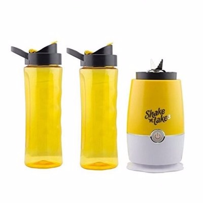 Smoothie Blender & Maker - 2 Cups - Yellow