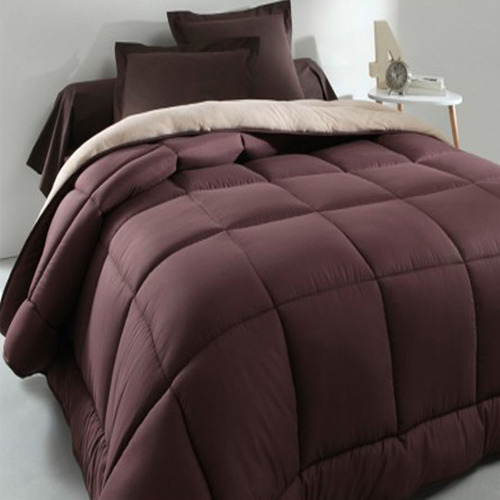 Spikkle Luxury Quilted Bedsheet Set - Chocolate Brown