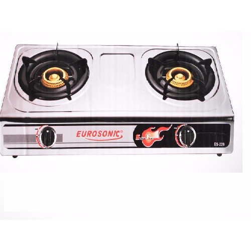 Table Top Gas Cooker - 2 Burners