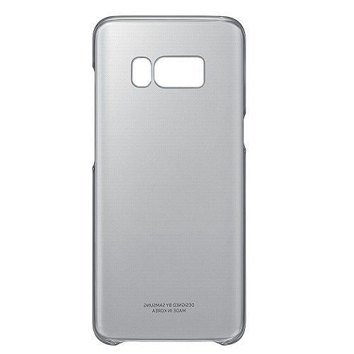 Clear Protective Cover for Samsung Galaxy S8 - Black