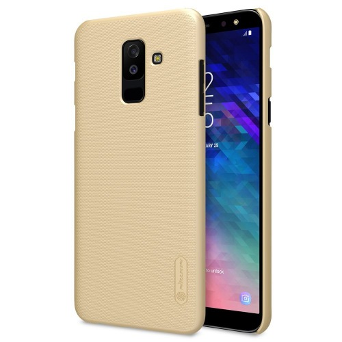 Back Case For Samsung Galaxy A6 Plus 2018 - Gold