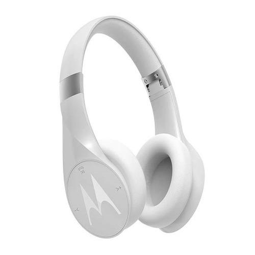 Motorola Sphere 2-in-1 Bluetooth Speaker With Over-ear Headphones - White