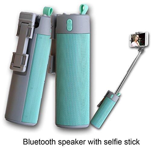 Wireless Selfie Stick Bluetooth Speaker 4-in-1 Combined
