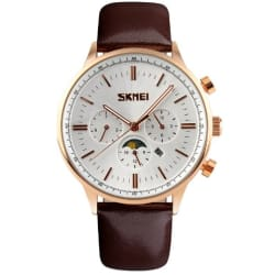 en lighter men watch brown watches weite elegant