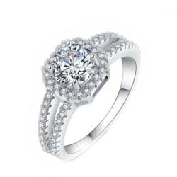 ajike silver engagement ring 925 - Wedding Rings Online