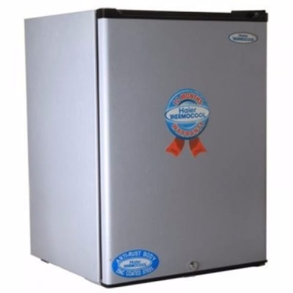 Haier Thermocool Single Door Bar Refrigerator - HR-107 - Silver