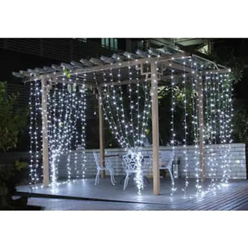 String Water Fall - Christmas Decoration Light Curtain