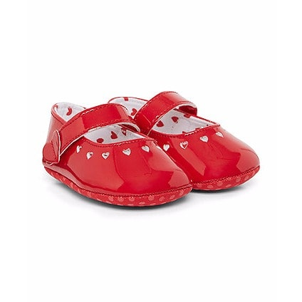 Mothercare In Heart Shoes Out Buy Patent Punch Girls SZwdqS4zn