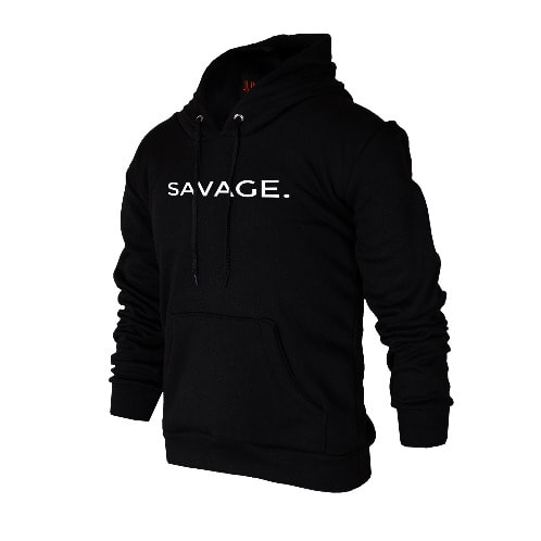 Black Edition Hoodie Konga Limited - Online Juno Savage Shopping