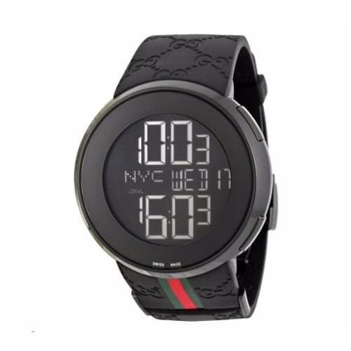 9d4defa01e6 Gucci 114 Men s Digital Luxury Wrist .