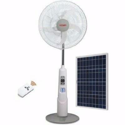 Solar Power Fan >> 18 Rechargeable Standing Fan With Solar Panel
