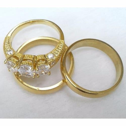 /1/8/18k-Gold-Plated-Steel-Wedding-Ring-Set-7449047.jpg
