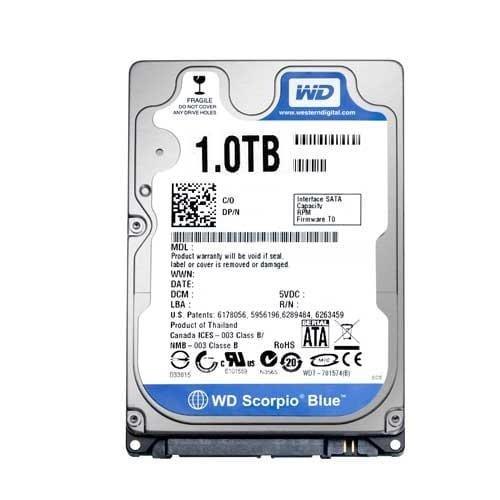 Western Digital 1TB Laptop Internal Hard Drive