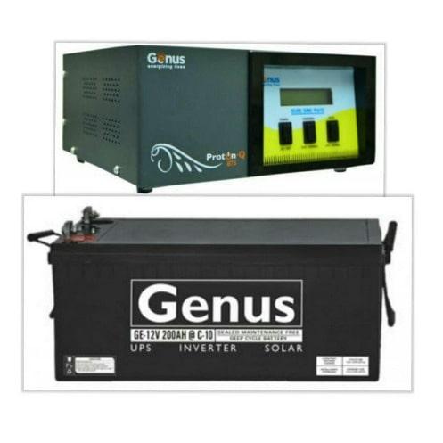 Genus 1kva Inverter With 200ah Battery Konga Online Shopping
