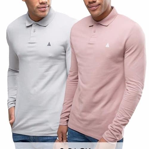 /2/-/2-Pack-Long-Sleeve-Polo-Shirt---Pink-Grey-7918369.jpg