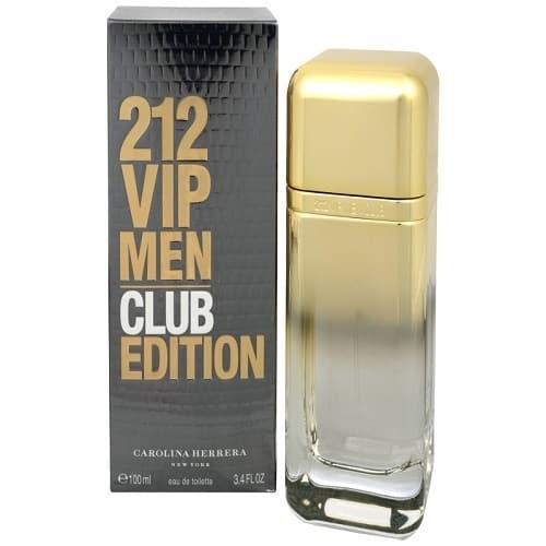 Carolina Herrera 212 Vip Club Edition Edt 100ml For Men Konga