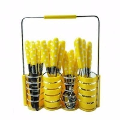 /2/4/24-Piece-Spotted-Pattern-Cutlery-Set---Yellow-4202652_4.jpg