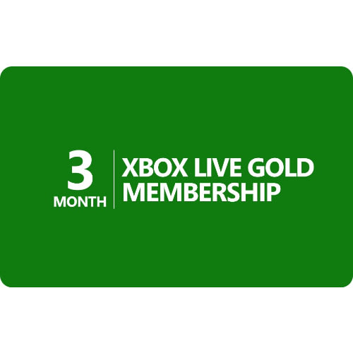 3 Month USA Xbox Live Gold Subscription