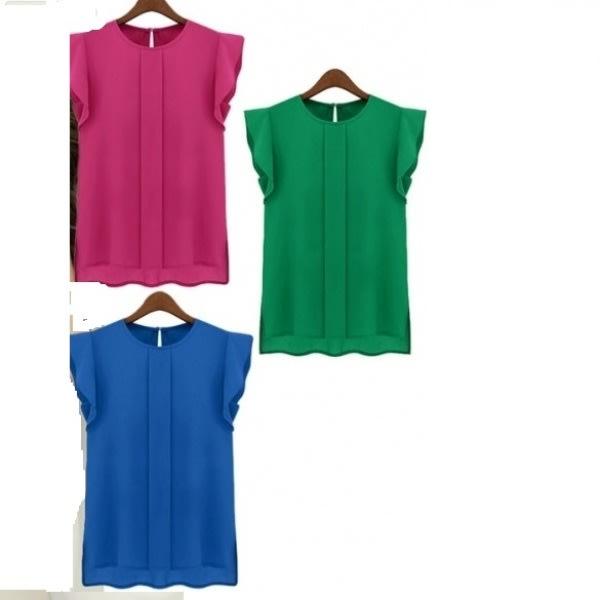 /3/-/3-Set-Women-s-Chiffon-Short-Tulip-Sleeve-Tops---Multicolour-7298357.jpg
