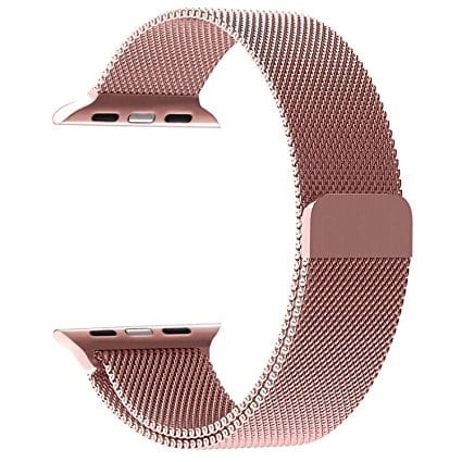 7d60b7e30b9 Apple 38mm Milanese Loop Band - Stainless Strap - Rose Gold
