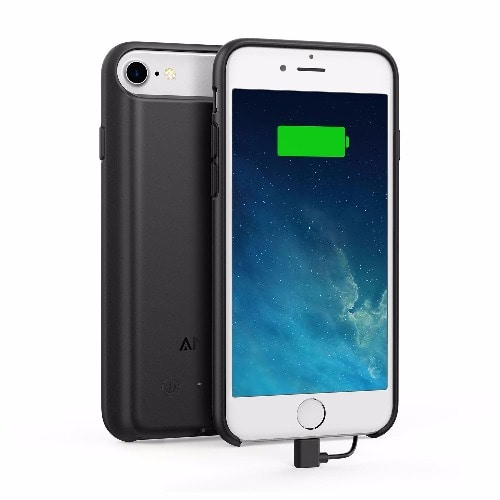 new product 48faf 192e0 4.7 Inch 2200mAh PowerCore Battery Case For iPhone 7 & iPhone 6 / 6s