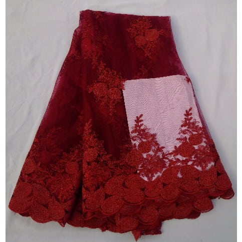 /4/-/4-Yards-Floral-Pattern-Tulle-Sample-Lace---Red-8064854.jpg