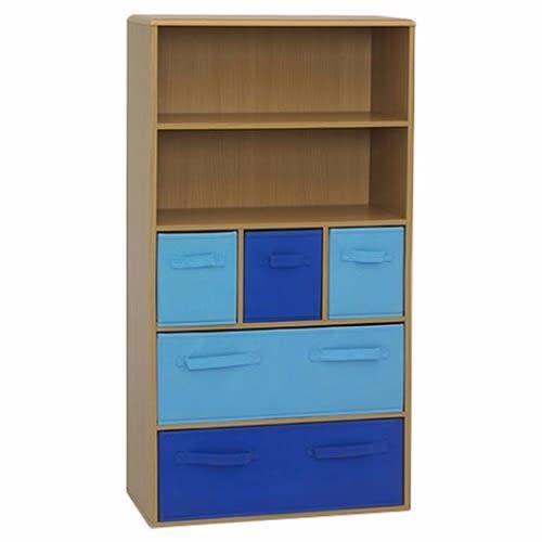 /4/7/47-3-Inch-Bookcase---Brown-Blue-6156091_2.jpg
