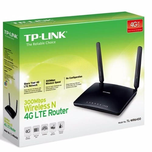 4G LTE Wireless Router - TL-MR6400 300Mbps N