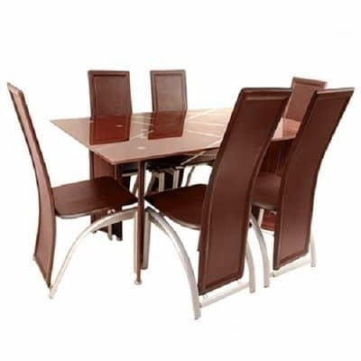 /6/-/6-Seater-Dining-Table-Chair-Set---Brown-7592820.jpg