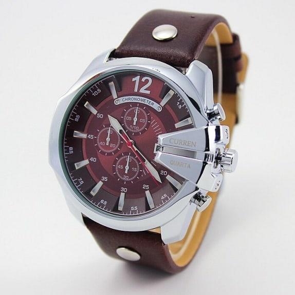 /8/1/8176-Men-s-Brown-Leather-Quartz-Wristwatch-8074683.jpg
