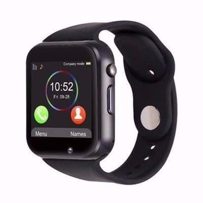 A1 Smartwatch With Sim & SD Card Slots - Black