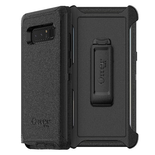 new style 486b3 acf69 Otterbox Defender Case For Note8 - Black