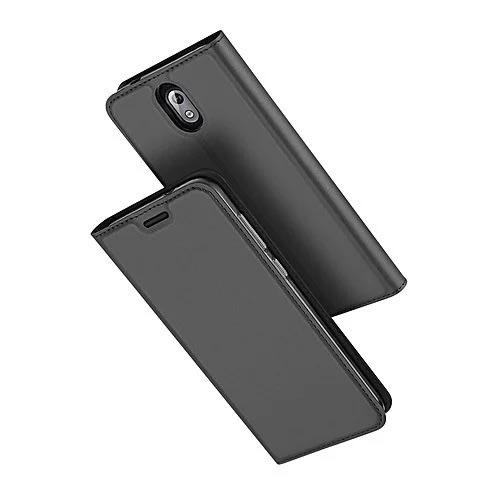 new styles 100e2 50e5c Leather Flip Case For Nokia 3.1