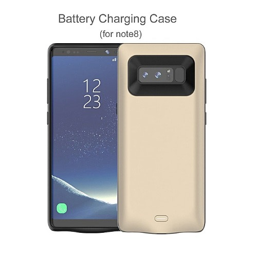 new product 6e03d 27bc6 Samsung Galaxy Note 8 Battery Case,5500mah Rechargeable Extended Charging  Case