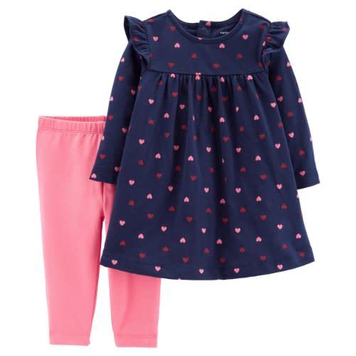 b163b376fabb0 Carter's 2 Piece Heart Top And Leggings | Konga Online Shopping