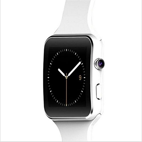 X6 Bluetooth Touch Screen Smart Watch Curve With Camera