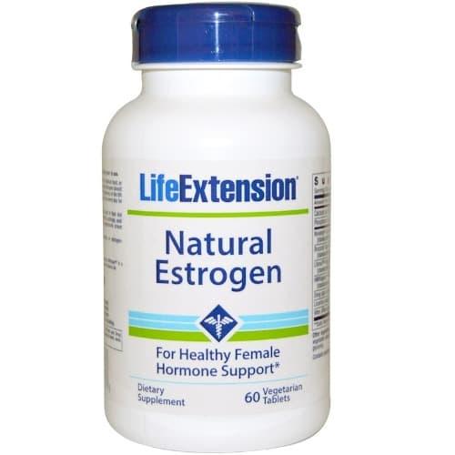 Natural Estrogen - 60 Veggie Tablets