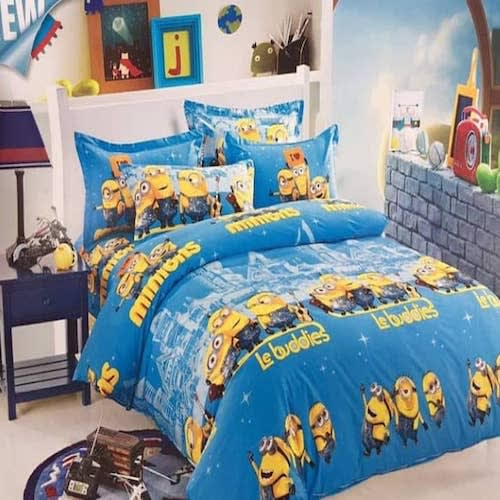 Cartoon Character Duvet And Bedsheet