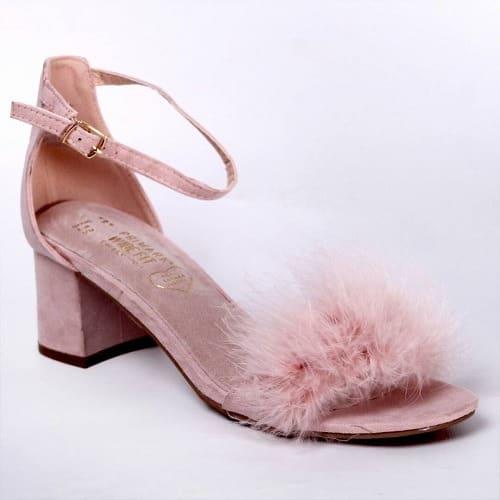 9a02adfd2f5 Primark Ladies  Feather Low Heel Sandals