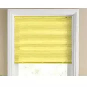 Venetian Blind - 1.5 X 1.5-5ft X 5ft - Yellow