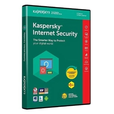 Internet Security 2018 - 3 Devices + 1 Free Pc - 1 Year Licence