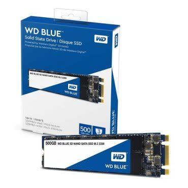 500GB WD BLUE M.2 Sata 560/530MB/s SSD Disk