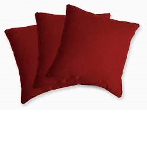 Red Throw Pillows - 3 Pieces