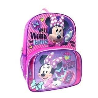 5225c50f36d Disney School Bag- Purple