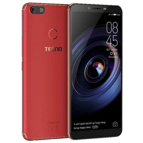 Camon X Pro - Dual Sim - 64GB ROM - 4GB RAM - 4G LTE - Face ID Fingerprint  - Bordeaux Red