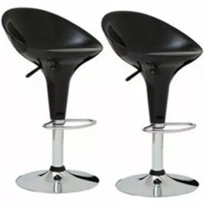 Amazing Hydraulic Lift Bar Stools Black 2 Set Camellatalisay Diy Chair Ideas Camellatalisaycom